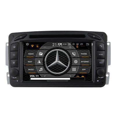 Mercedes W203 W209 Android Radio Stereo Navigation Upgrade