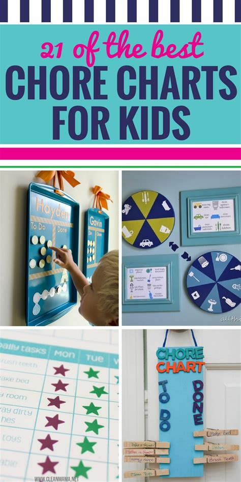 21 of the Best Chore Charts for Kids - My Life and Kids