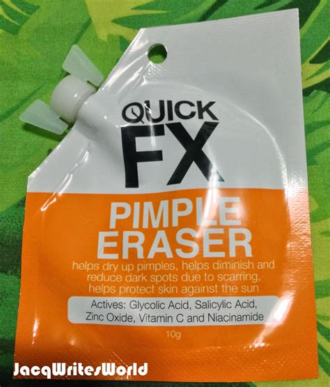 Erase pimples now with Quick FX Pimple Eraser from Watson's!