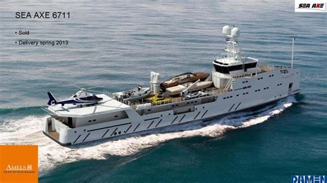 New Contract: Amels 67-meter Sea Axe Support Vessel