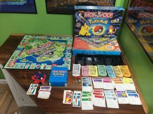 INCOMPLETE 1999 Pokemon Monopoly Collector's Edition