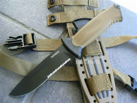 Gerber Full Tang USA Prodigy Coyote Brown Drop Point