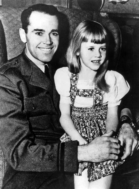 Jane Fonda as a child with her father Henry Fonda