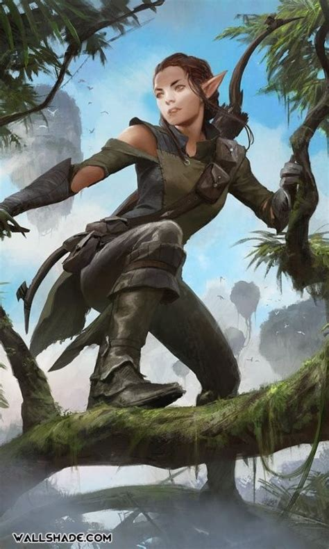 ~Ria~archer~huntress~elf~caring~does'int care about