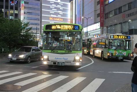 Tokyo Toei Buses | JapanVisitor Japan Travel Guide