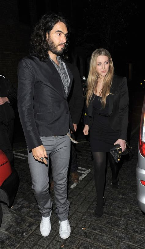 First pictures of Russell Brand and Laura Gallacher's