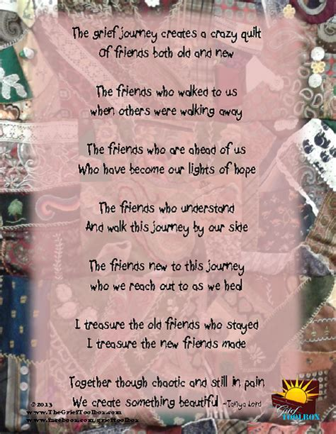 Friends - A poem | The Grief Toolbox