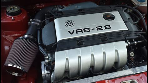 VW MK1 VR6 Sound Test and Test Drive - YouTube