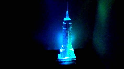 Empire State Building 3D puzzle - Night Edition - YouTube