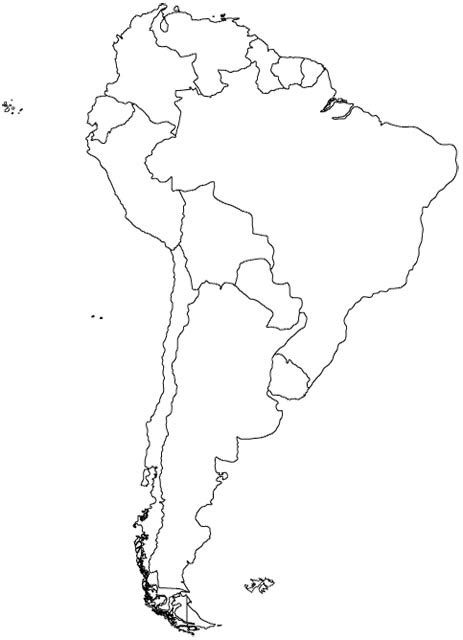 Countries of South America Clickable Map Quiz - By Lenny