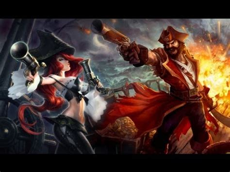 Gangplank Miss Fortune - League of Pirates [League of