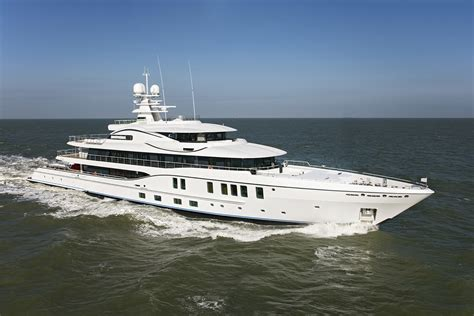 First 74-metre AMELS 242 in sea trials - Netherlands