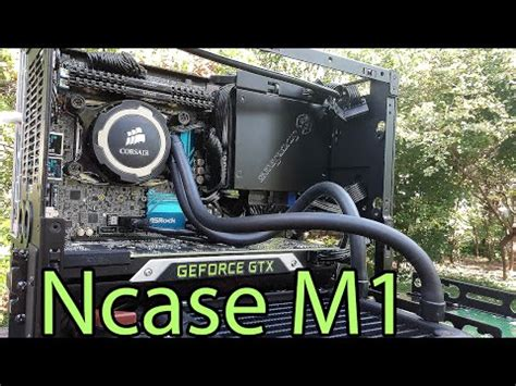 My NCASE M1 v4 Build: Best Parts in Smallest Case - YouTube