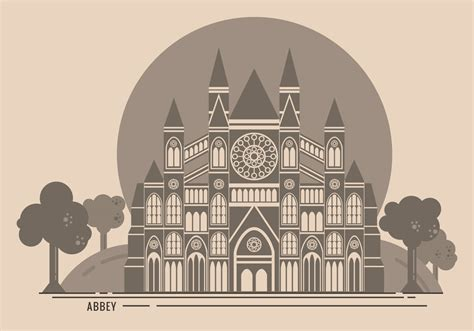 Westminster Abbey Free Vector Illustration - Download Free