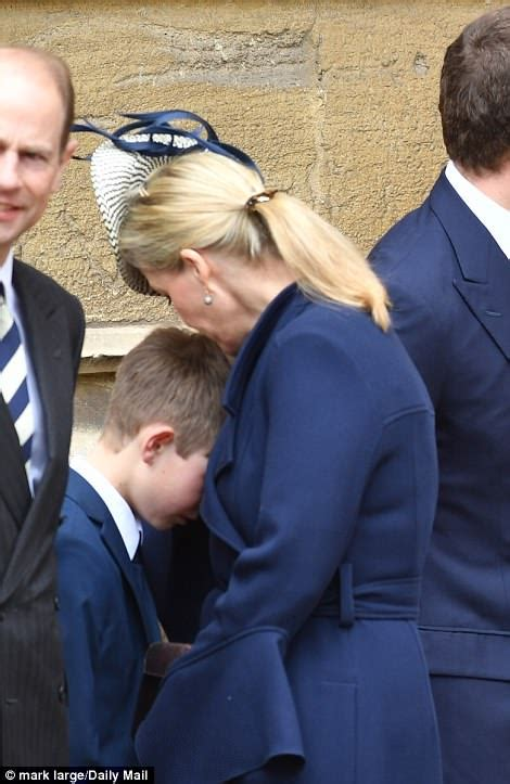 Prince Edward and Sophie's 10-year-old son drives their