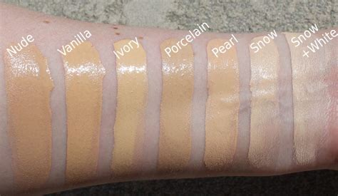 Too Faced Born This Way Concealer Swatches & Foundation