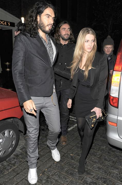 Russell Brand 'very excited' to welcome first child with