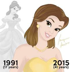This Is What Disney Princesses Would Look Like Today If