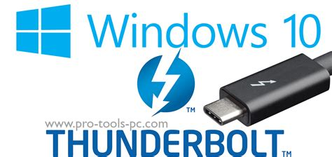 Microsoft Will Officially Support Thunderbolt In Windows