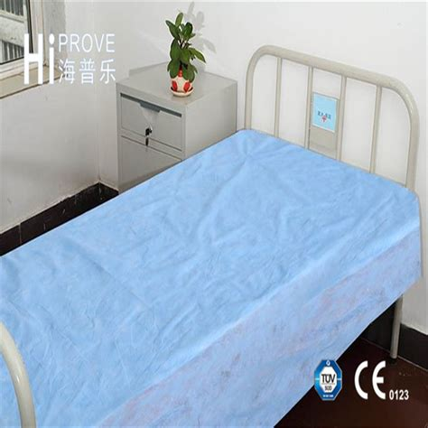 China Non Woven PP/SMS Disposable Waterproof Bed Sheet for