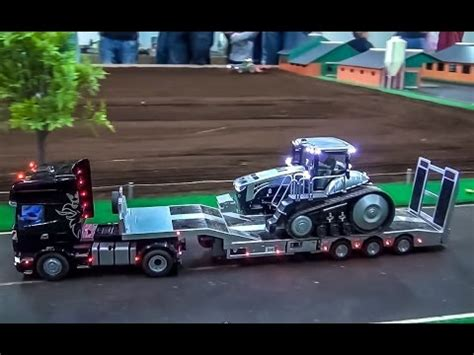 RC Tractor & Truck Action! SIKU Control Tractors at work