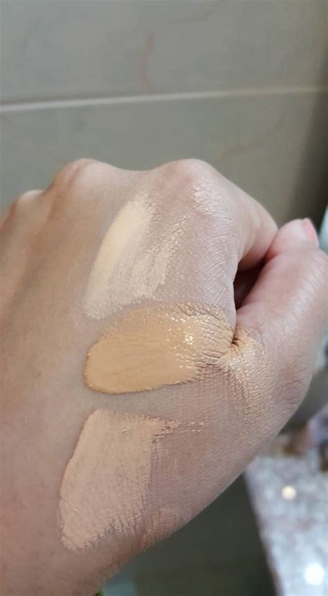 Too Faced Born This Way Foundation Swatches - Natural