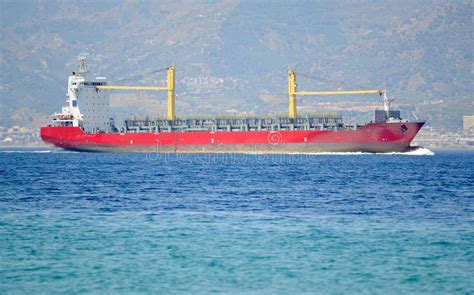 Empty Container Ship Stock Images - Image: 20351904