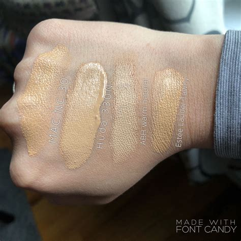 MAC NC30 Studio Fix Fluid Foundation Dupes - All In The Blush