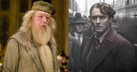 Here's Why Jude Law Was Cast As Young Dumbledore In