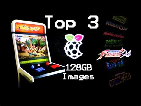 Reys 128gb RetroPie Image with Attract Mode and DOWNLOAD