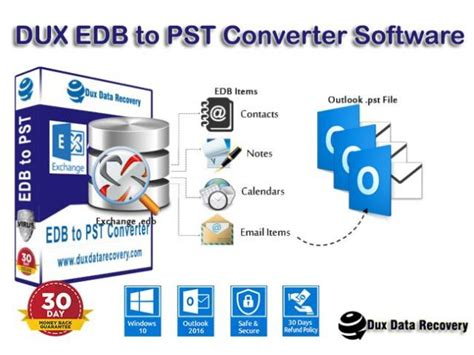 Dux Exchange EDB to PST Recovery   Class Ads